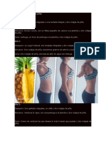 Dieta de Los 3 Días Con Piña