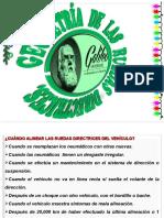 4ta. C.- Presentaci n de Mec Nica T Cnica IV. Comprobaci n de La Geometr a de Las Ruedas.