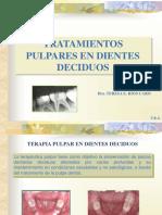 TRATAMIENTOS PULPARES