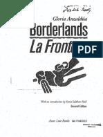 Gloria Anzaldua – Borderlands/La Frontera