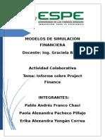 Informe Project Finance