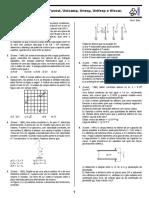 EXT-M-SP Lista de Eletrostática - Fuvest, Unicamp, Unesp, Unifesp e Ufscar 1987 - 2011