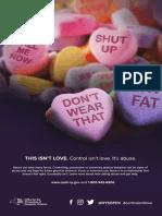 """Control Isn't Love"" poster"