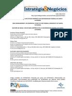 Gestão de Ideias - Um Estudo Empírico Na Universidade Federal de Santa Catarina