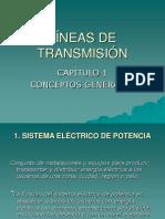 Capítulo 1 (Conceptos Generales) Líneas de Transmisión