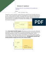 Worksheet16 Equilibrium