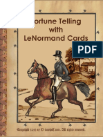 Tarot PDF - Fortune Telling With Le Normand Tarot Cards