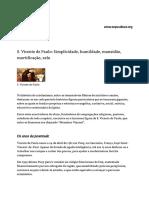 5 - São Vicente de Paulo