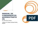 Manual de Fundamentos Administrativos