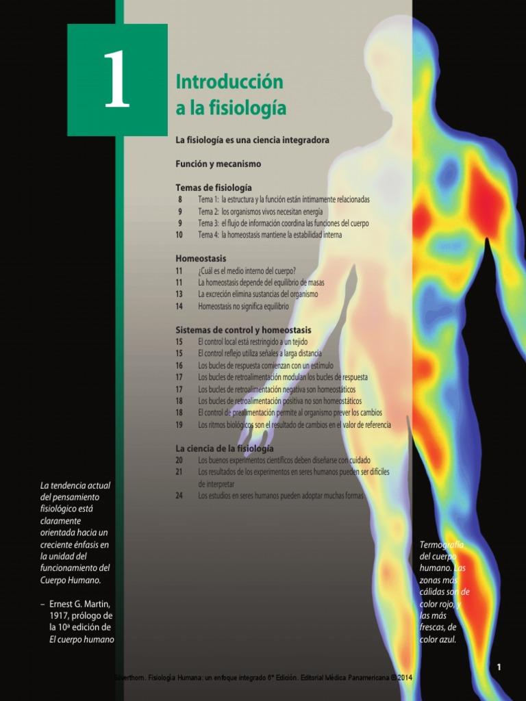 Fantástico Fundamentos De La Anatomía Y Fisiología Humana 11ª ...
