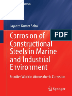 Corrosion of Constructional Steels in Marine and Industrial Environment (1)
