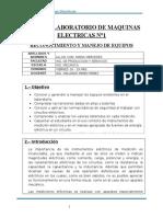 informe de maquinas electricas