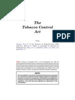 Saskatchewan-Canada Tobacco Control Act