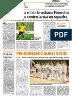 La Nazione Massa Carrara 01-02-2017 - Calcio Lega Pro