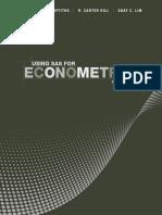 Using SAS for Econometrics, Fourth Edition - Griffiths, William E.