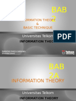 Ch2 Information Theory Basic Technique