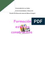 FORMACION CONSTRUCTIVA