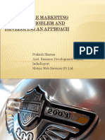 marketing research problem and devloping approach