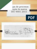 Mapa de Procesos Según La Iso 9001 Modificacion 2015