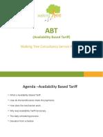 ABT - availability based tariff