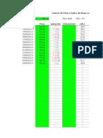 Planilla de Excel Para El Calculo Del Indice de Masa Corporal