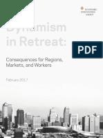 Dynamism in Retreat