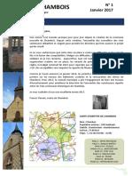 L'Écho de Chambois (Eure)  Janvier 2017