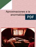 Aproximaciones a La Anormalidad