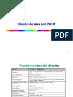 Clase Diseño de Una Red DWDM