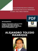 Expo Alejandro Toledo
