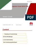 Comissioning&Integration FMR BTS NOKIA Guidliness Indo