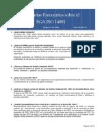 2015_Charla Semanal N° 04 - Preguntas Frecuentes SGA ISO 14001