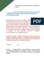 105918561 Modelo de Queja Interpuesta Contra Arbitraria Abusiva y Prevaricadora Jueza Maruja Otilia Hermoza Castro 130404014644 Phpapp01