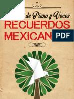Recuerdos Mexicanos Carpeta