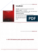 Standarde Evlaure Iulie 2016-Modificari