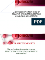 Spectroscopy Methods