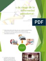 Factores de Riesgo de La Enfermedad Periodontal Genetica
