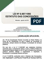 Luciana Menezes Estudo Das Concessoes