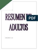 Resumen de Adultos Para Examen de Grado