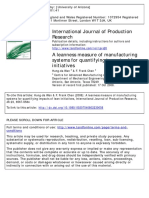 2008 a Leanness Measure of Manufacturing Systems for Quantifying Impacts of Lean Initiatives