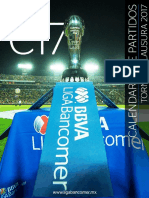 Calendario de Liga MX - Temporada MX CLausura '17