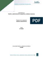 1. La auditorIa administrativa y su proceso de ejecucion.pdf