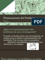 Planteamiento Del Problema y Objetivos en la tesis