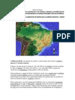 Texto Relevo-hidrogr Brasil