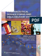 Ansel's Pharmaceutical Dosage Forms and Drug Delivery Systems, 9th Ed