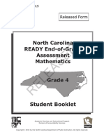 4th grade -  math - released eog