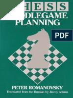 Peter Romanovsky Chess Middlegame Planning  .pdf