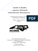 A Guide to Radio Frequency Hazards With Electric Detonators