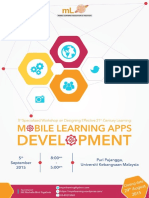 3rd Specialized Workshop on Designing Effective 21st Century Learning Mobile Learning Apps Development_30072015