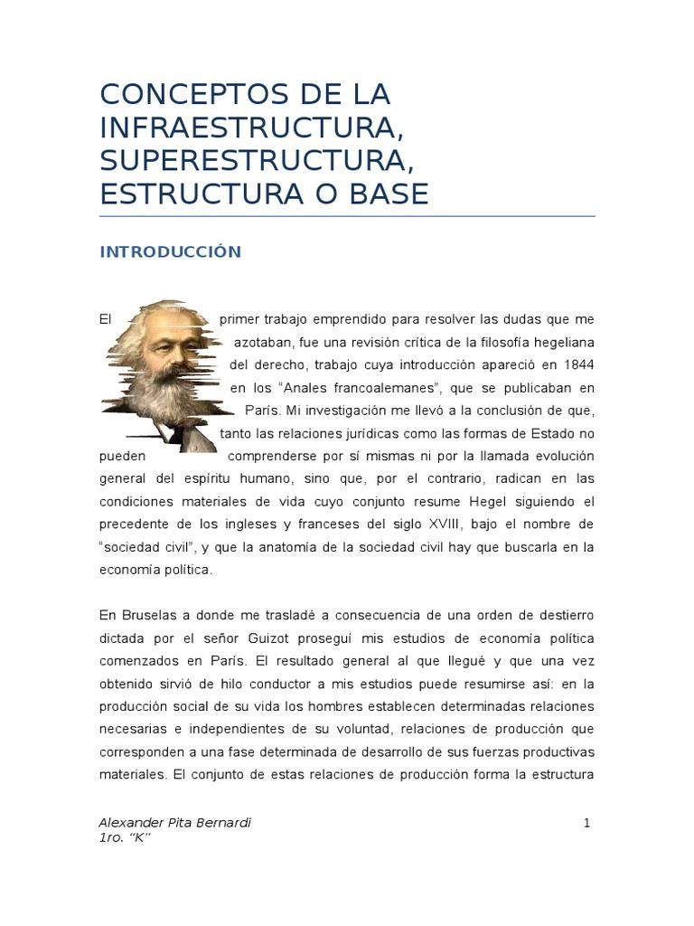 38659834 Infraestructura Y Superestructura Docx